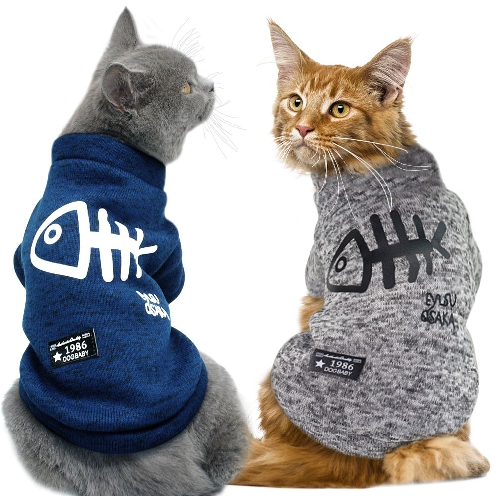 Cute Cat Clothing Winter Pet Puppy Dog Clothes Hoodies For Small Medium Dogs Cats Kitten Kitty Outfits Cat Coats Jacket Co Cat Clothes Pet Clothes Dog Sweaters