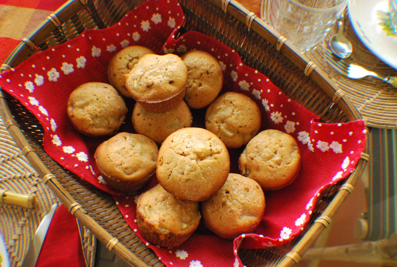 Muffin de pêra e gengibre -  Melhor receita do mundo e da Nigella