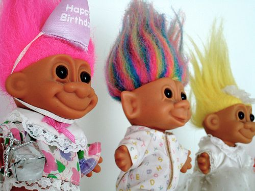 90s Troll Dolls 90s troll dolls called trolls!