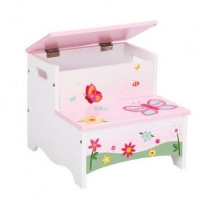 Butterfly Step Stool with Storage many designs