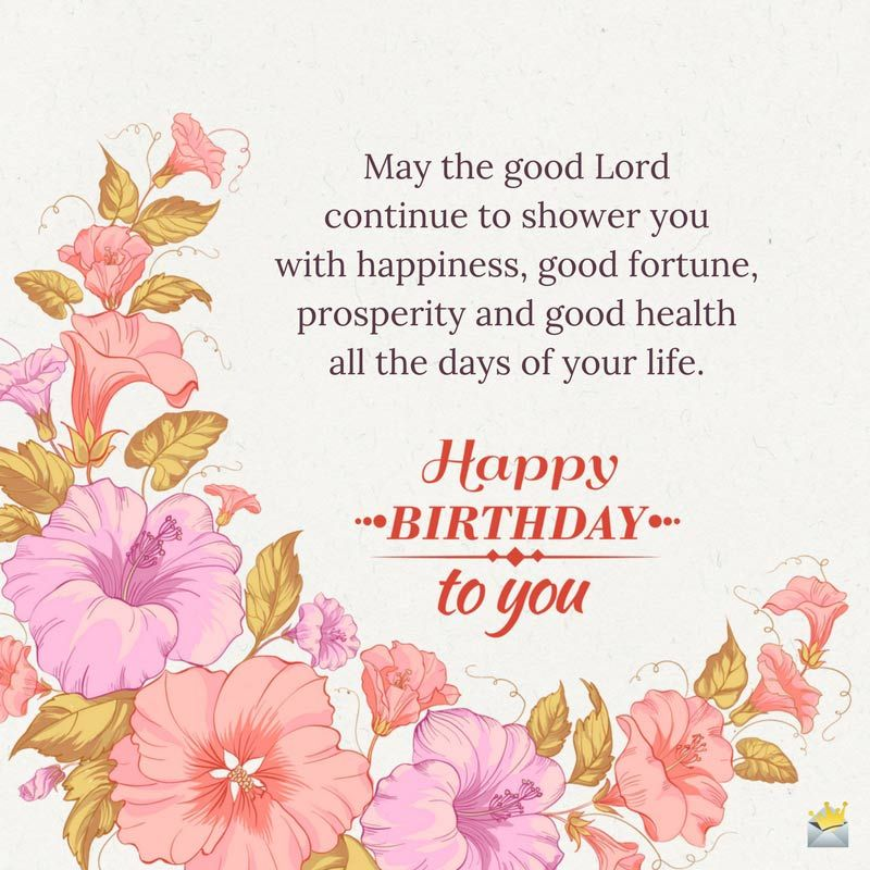 True Blessings for your Special Day Happy birthday