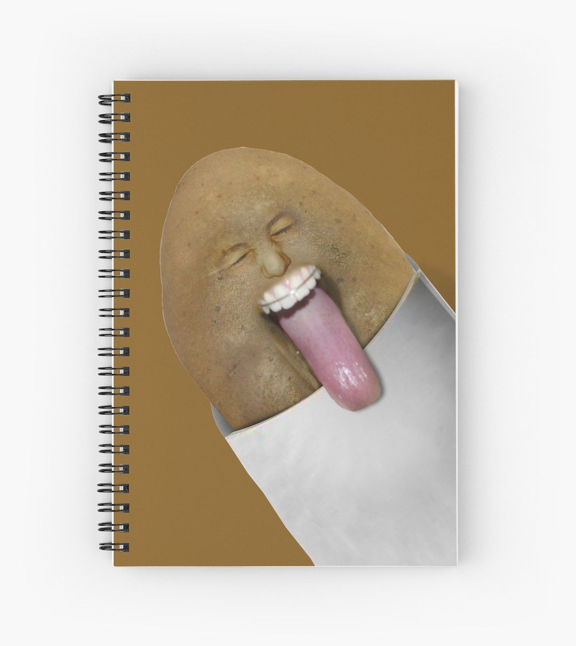 'BLECH - Rotten Potato ' Spiral Notebook by Gravityx9 ...