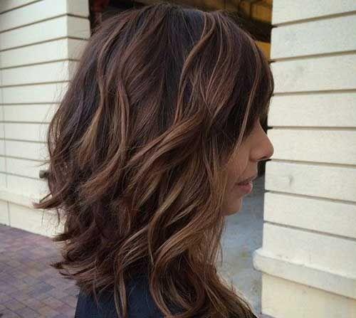Medium Kurzes Haar