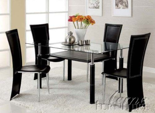 43++ Amazon glass dining table and chairs Trend