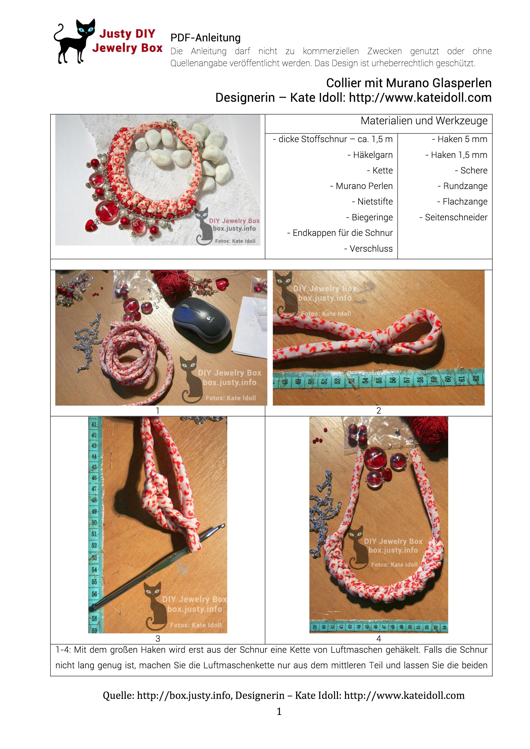 DIY Handmade Jewelry Tutorial: Ohrringe und Anhänger. Beading mit ...