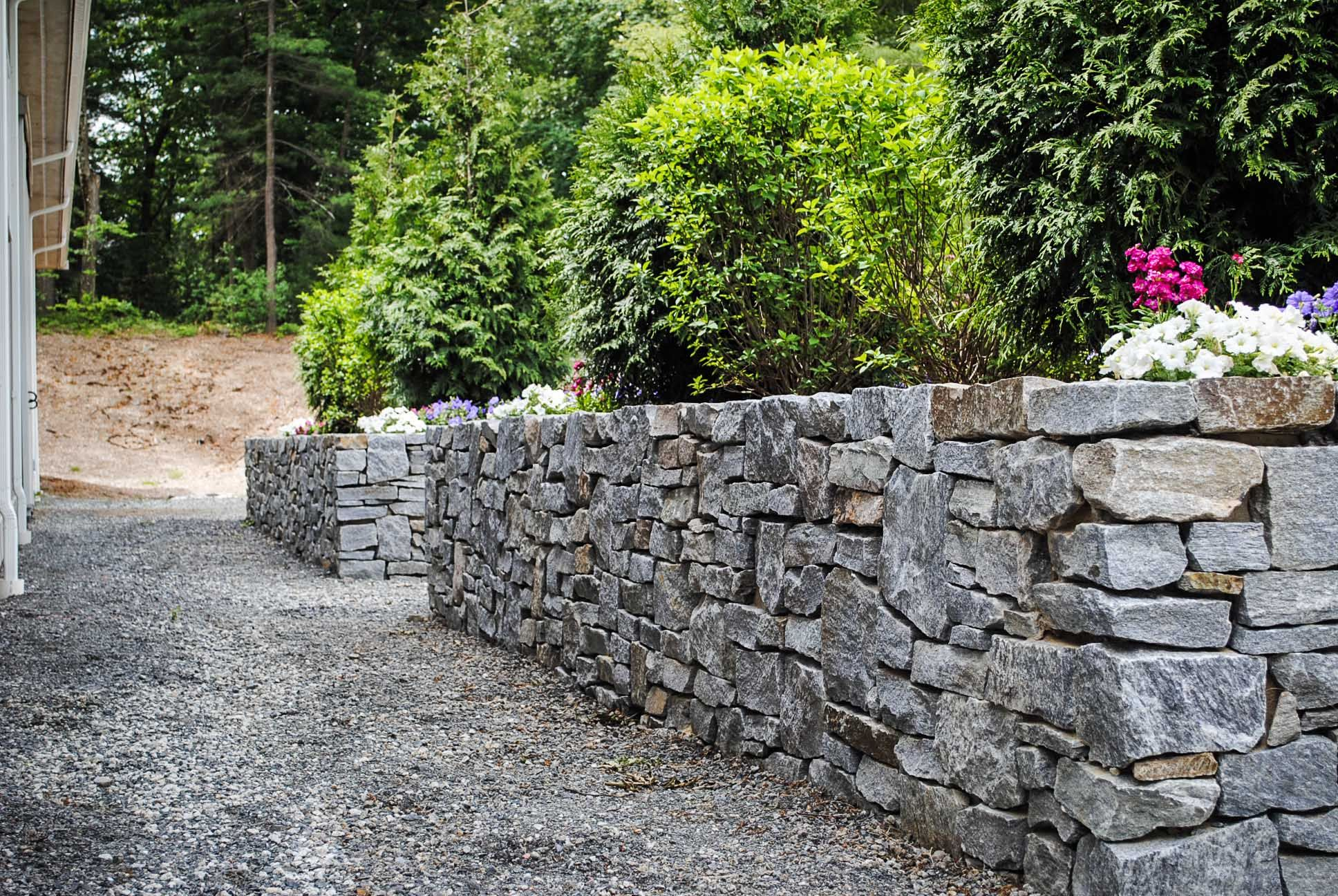 stone wall planters wall planter stone wall planters on stone wall id=95780