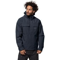 Photo of Jack Wolfskin Winter Hardshell Männer Winter Regen Jacke Männer M Blue Jack WolfskinJack Wolfskin
