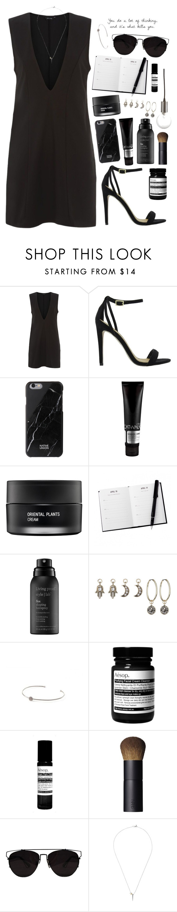 """""""Geen titel #243"""" by sophievalk ❤ liked on Polyvore featuring ASOS, Native Union, TIGI, Koh Gen Do, Living Proof, Topshop, Pernille Corydon, Aesop, NARS Cosmetics and Retrò"""