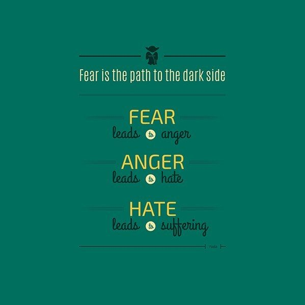 Spread Love Not Hate Quotes: Top 100 Yoda Quotes Photos FEAR IS AN ILLUSION! 🌀 Don't