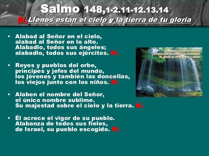 Resultado de imagen para Sal 148,1-2.11-12.13.14