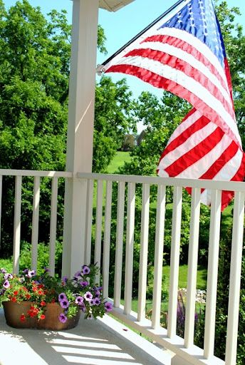 Picture Perfect American Cottage How To Decorate Interiors: An All-American Porch And Summertime. So Picture-perfect