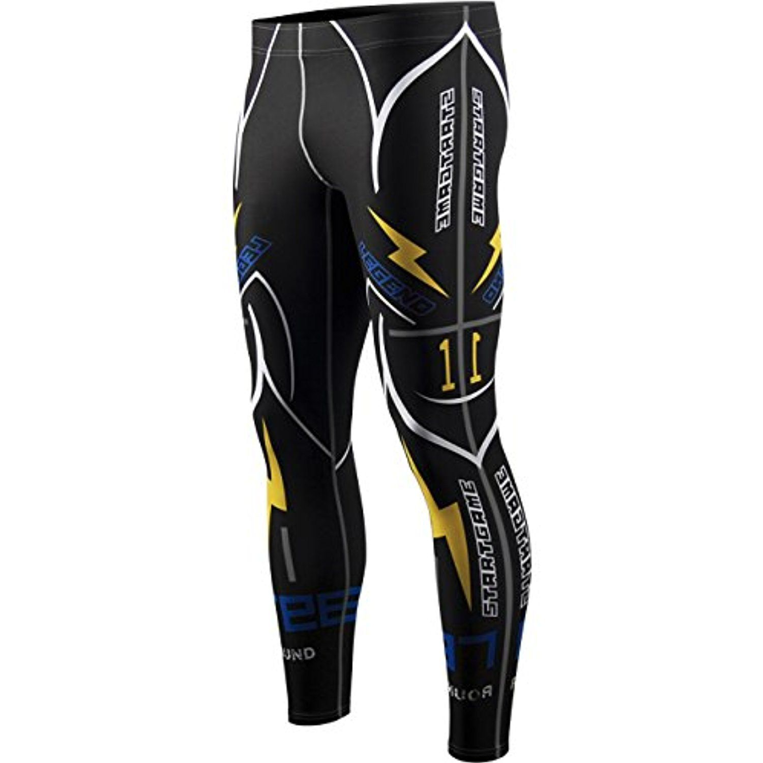 8b4958842d Tights zipravs Mens Cool Dry Compression Baselayer Workout Long Tight Pants