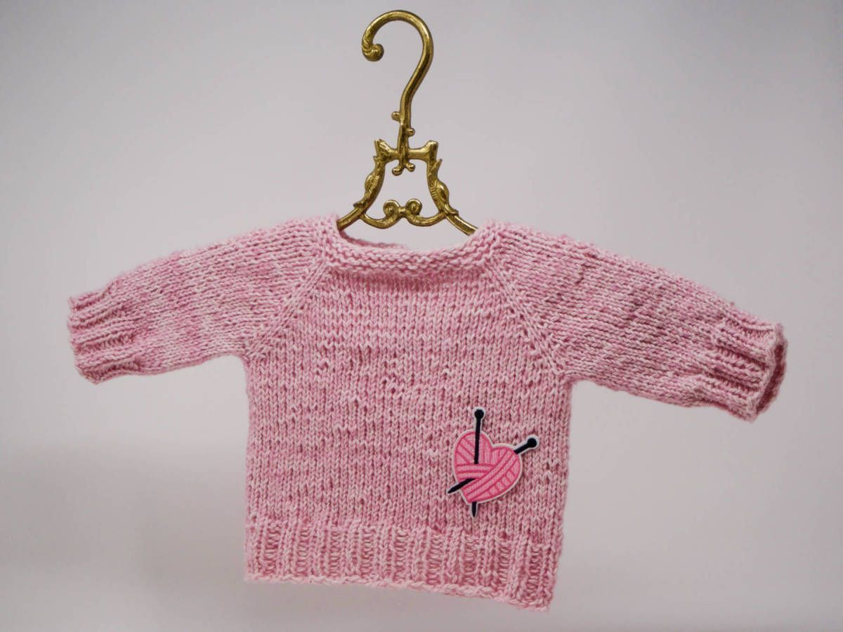 Photo of Ad: Baby sweater with Snaply – Free pattern – Caros Fummeley, # pattern # …