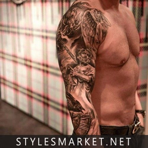 Dashing Right Hand Tatoo For Men Tattoo Sleeve Men Best Sleeve Tattoos Full Sleeve Tattoos