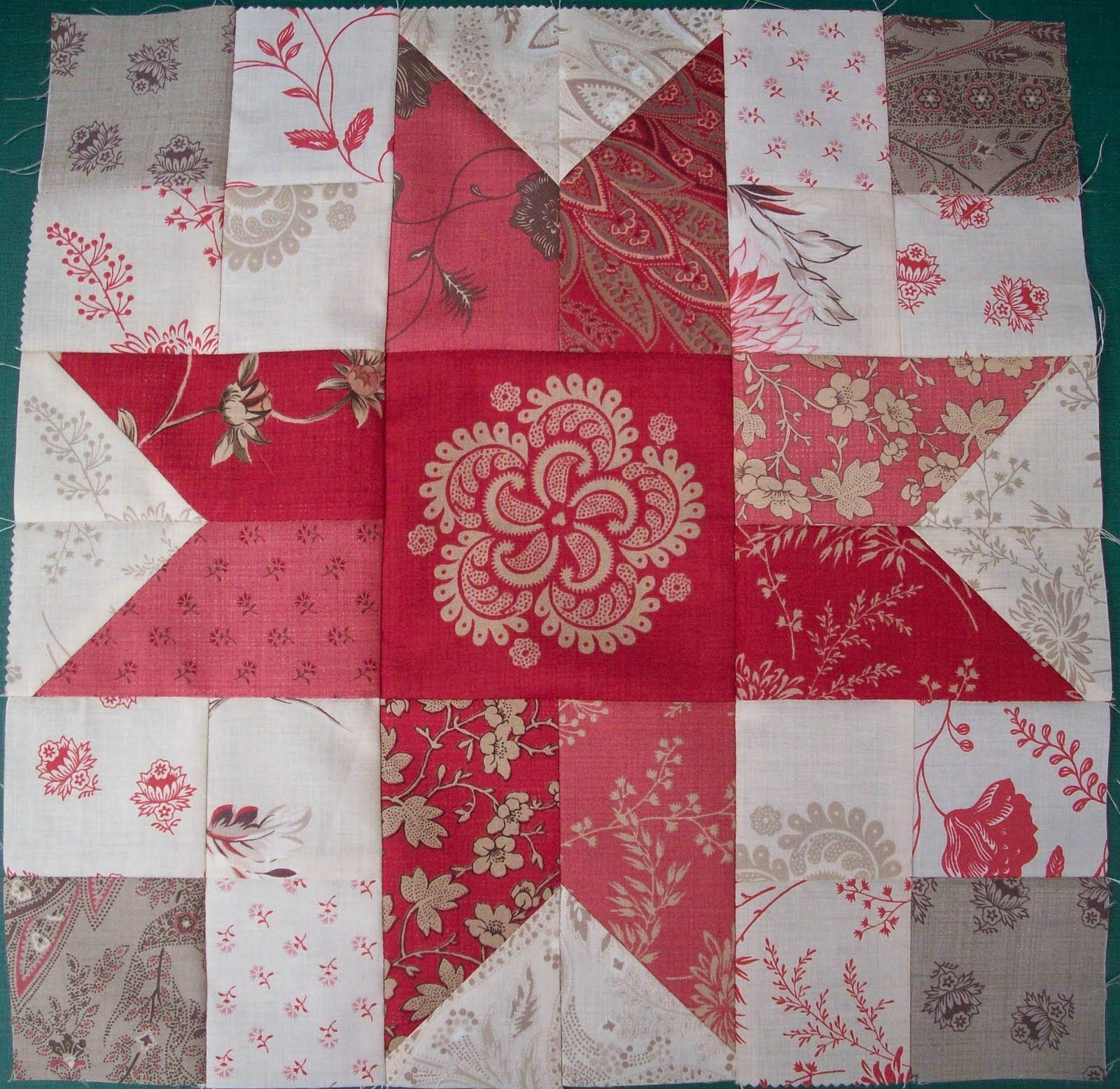 AUNTIE'S QUAINT QUILTS: Ann's New Years Eve Star Blocks