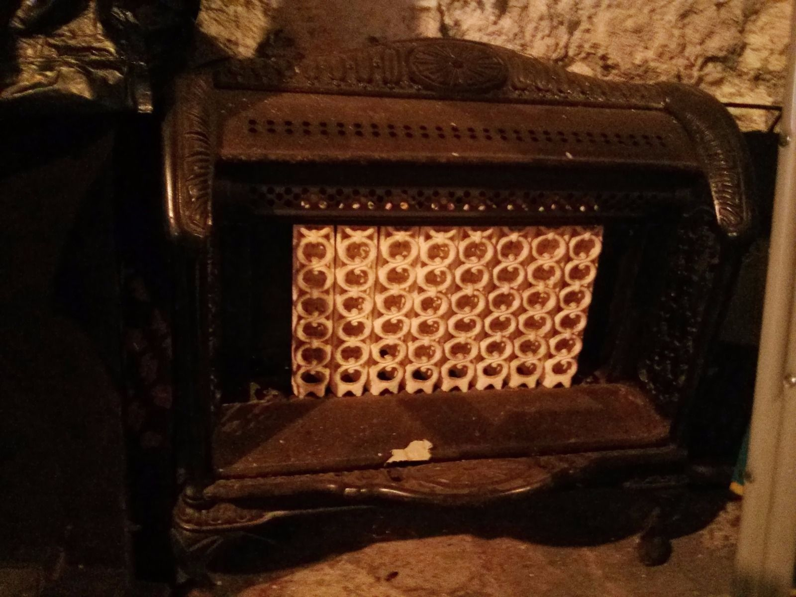 ray-glo fireplace inserts Vintage