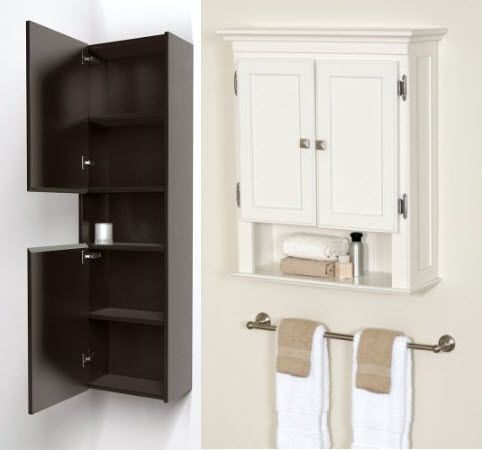 Wall Mounted Bathroom Storage Cabinets Choozone