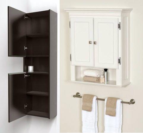 Wall Mounted Bathroom Storage Cabinets Choozone