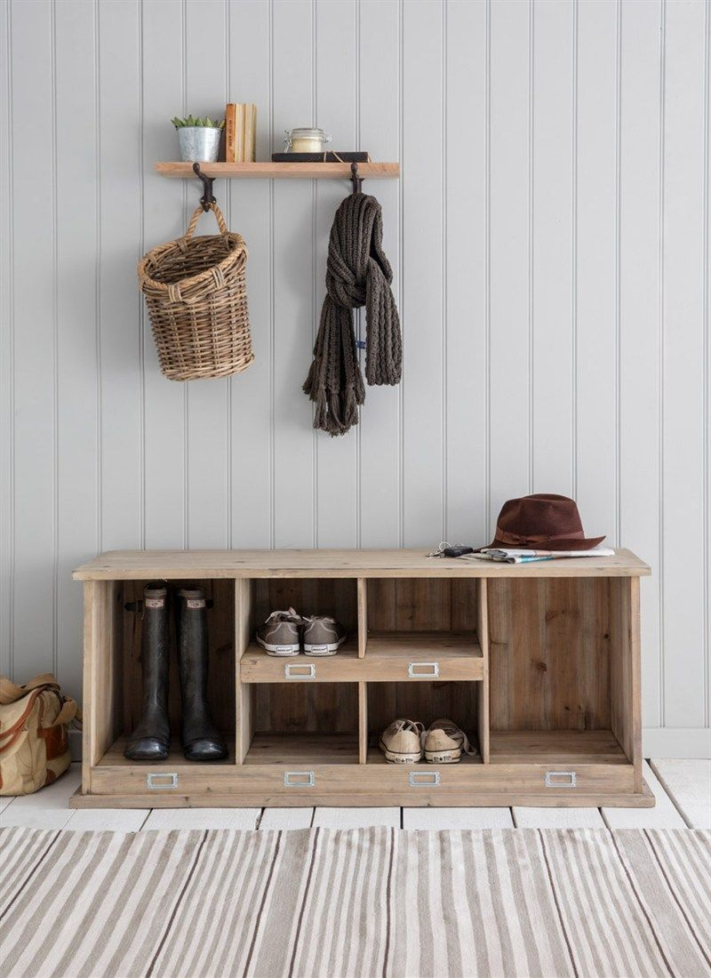 The Chedworth Welly Locker is the perfect item for storing all stray shoes and muddy wellies
