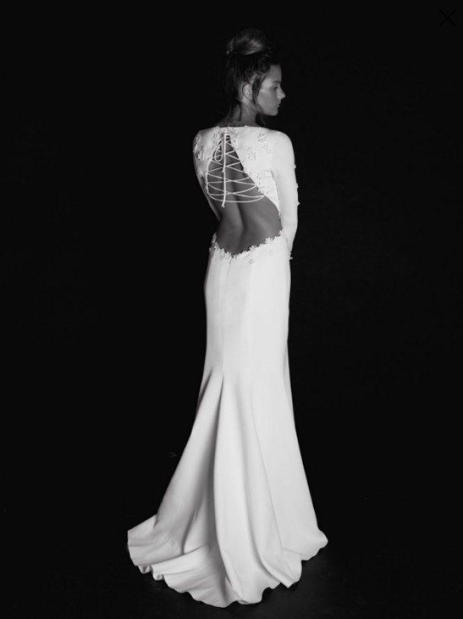 60 vestidos de novia con espaldas impresionantes   c l o t h e s