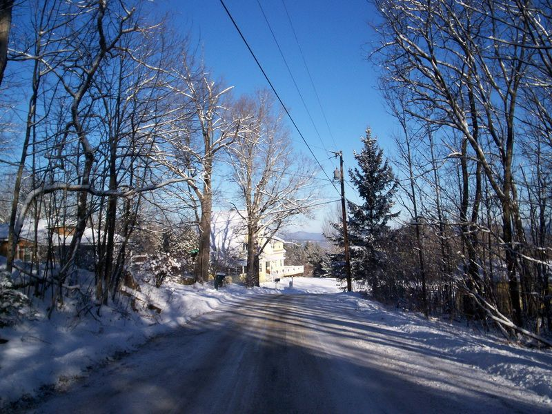 Kimball Hill Rd. in Whitefield NH.