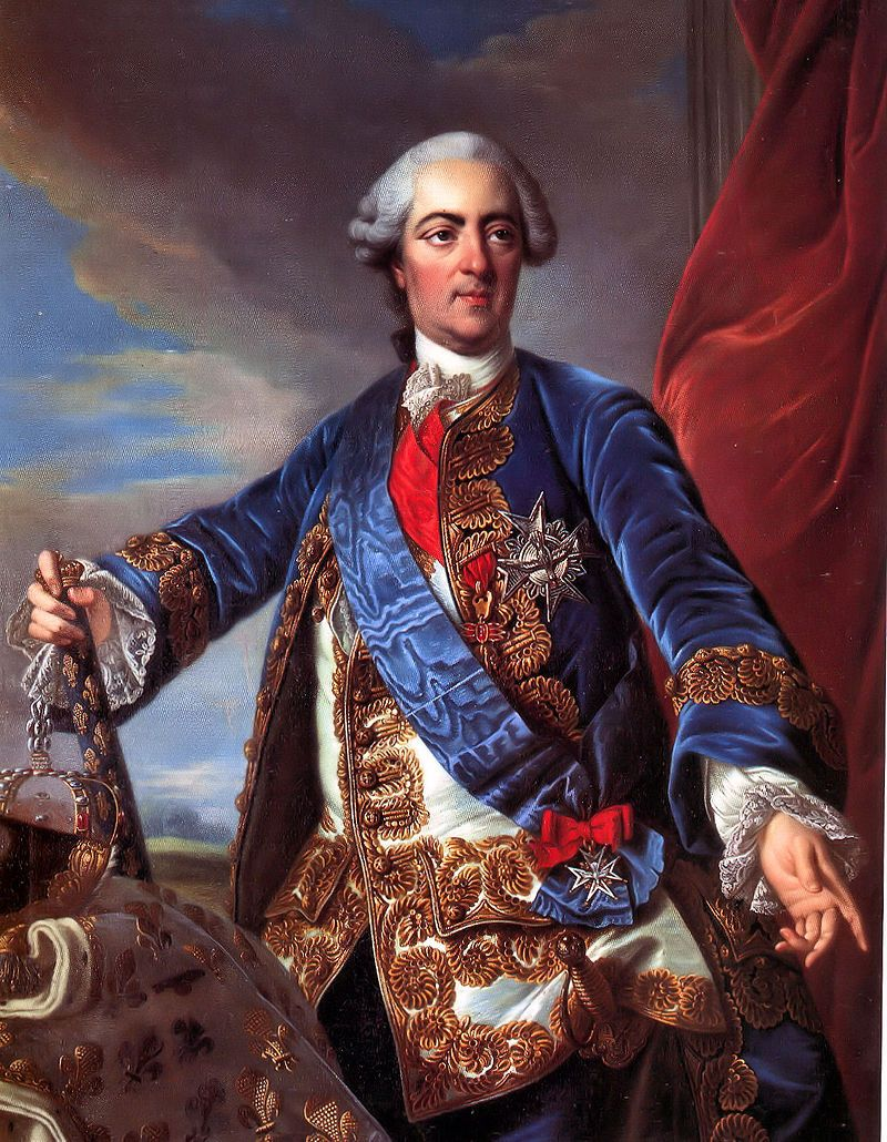 Roi de France et de Navarre (1715-1774). Louis-Michel van Loo, 18th century.