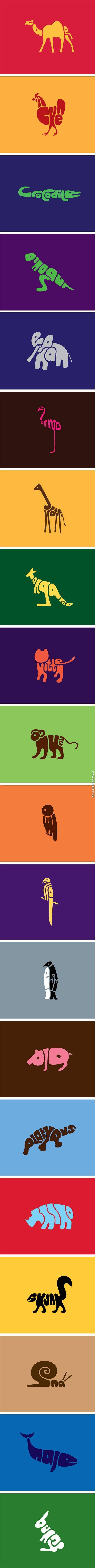 Animals In Words