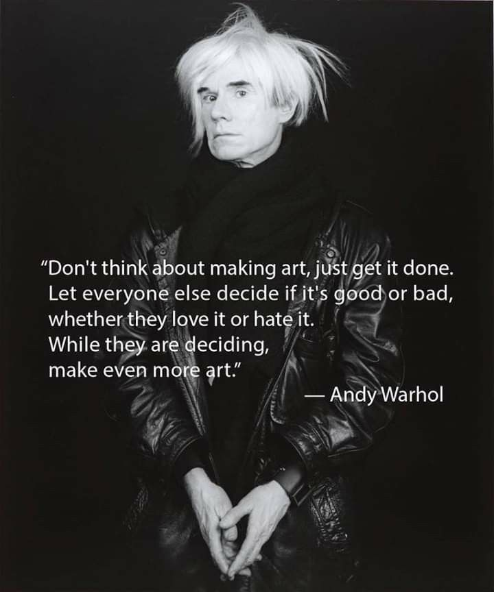 Pin by Jane Rich on Art (With images) Andy warhol quotes