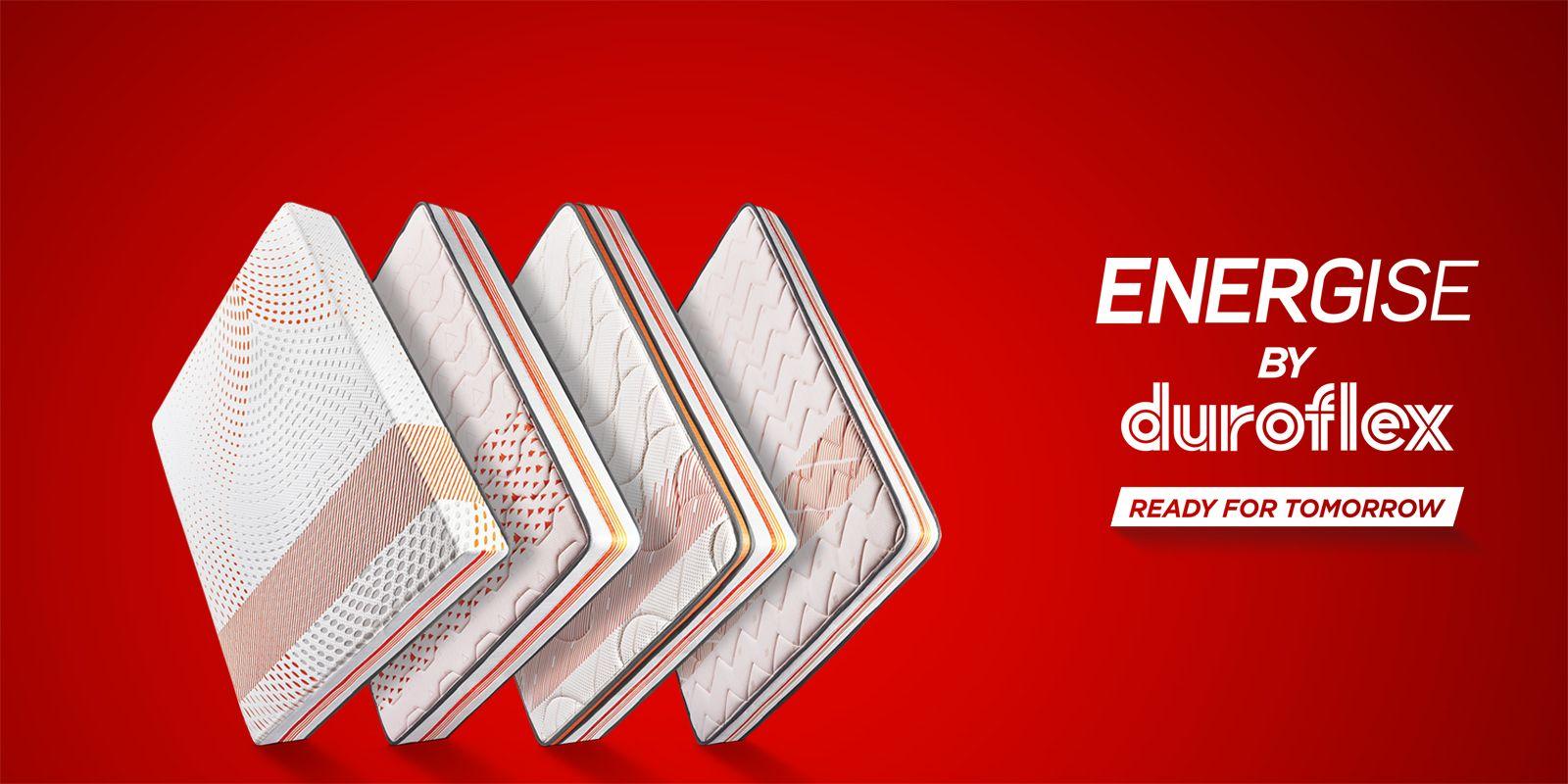 duroflex energise mattress price meramattress com pinterest