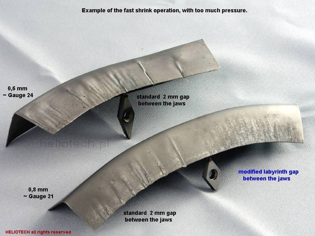 Shrinking Folds Sheet Metal Perspective Metal Shaping Metal Working Metal Projects