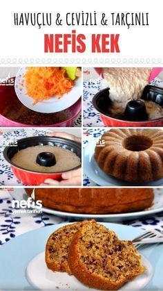 Havuçlu Cevizli Tarçınlı Kek Tarifi (videolu) - Nefis Yemek Tarifleri