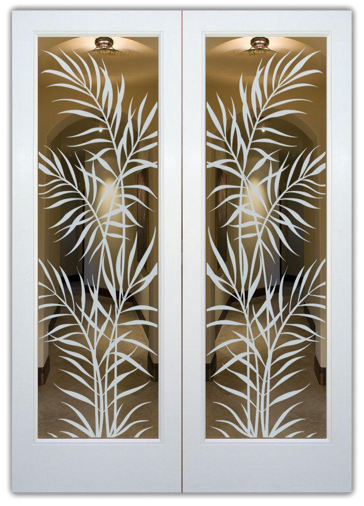 Contemporary sandblasted glass designs for Modern glass designs