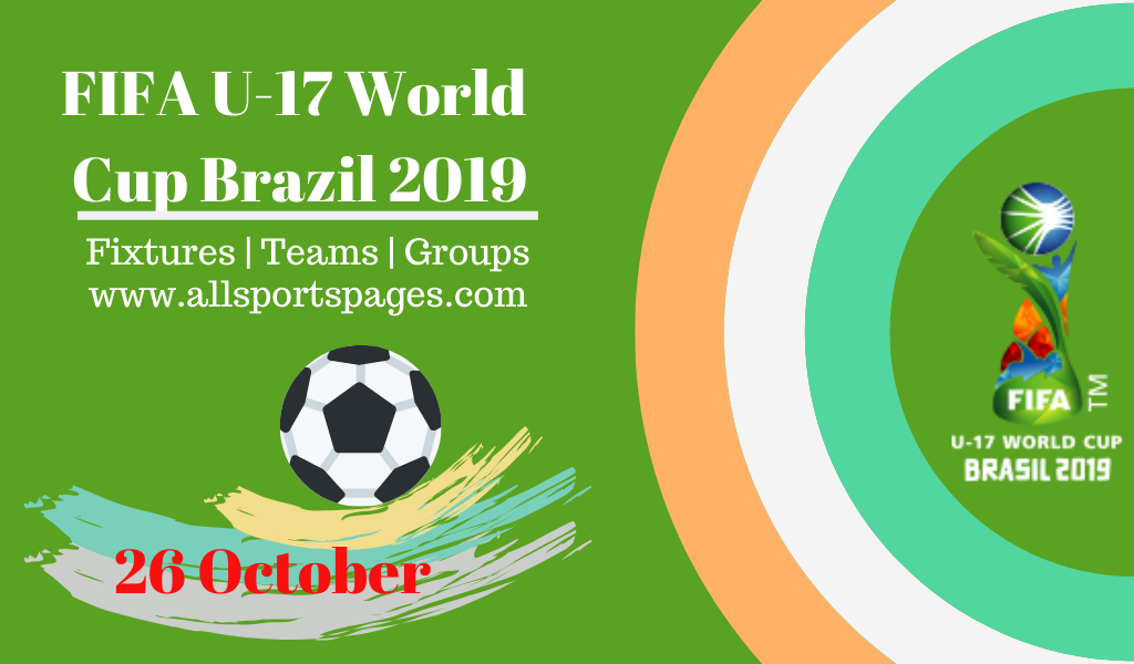 Fifa U 17 World Cup Brazil 2019 And Its History With Stats Fixtures Teams Groups World Cup Fifa Fifa Football