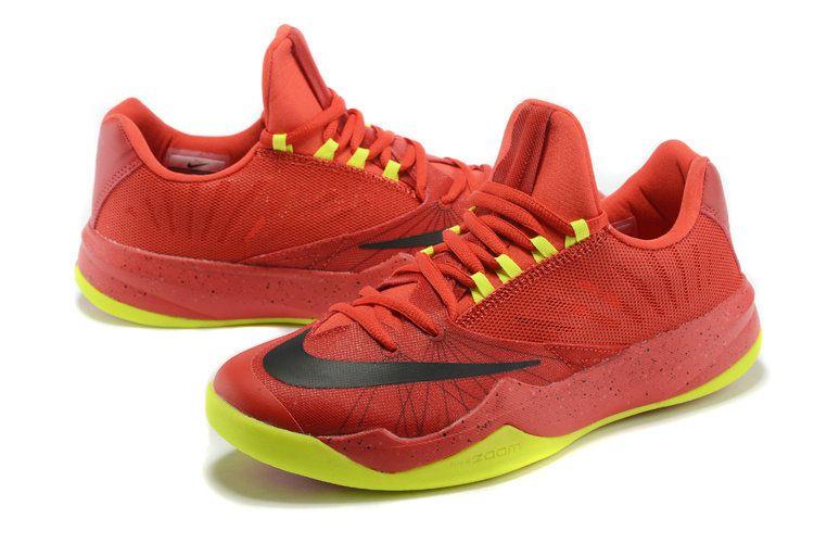 14ffebffe641 Nike Zoom Run The One James Harden PE Bright Crimson Volt Nike Shoes For  Sale
