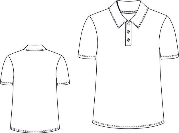 Schnittmuster Herren Poloshirt | Nähen - Inspirationen, Anleitungen ...