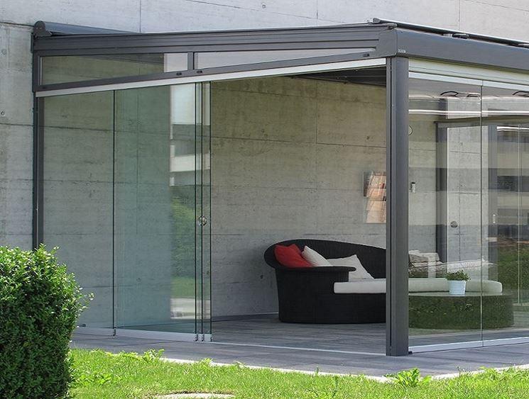 Vetrate per verande idee per terrazzi pinterest for Idee di veranda laterale