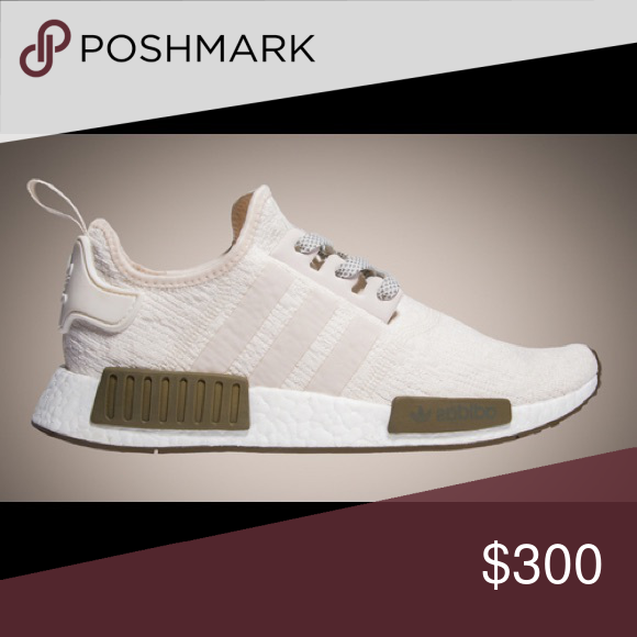 87368e5cdde18 Chalk and Olive NMD R1 (Champs Exclusive)  COMES WITH BOX  Champs  exclusive