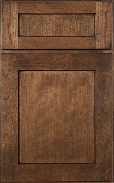 Medallion cabinet: Potter's Mill Flat Panel | Dover St. Kitchen ...