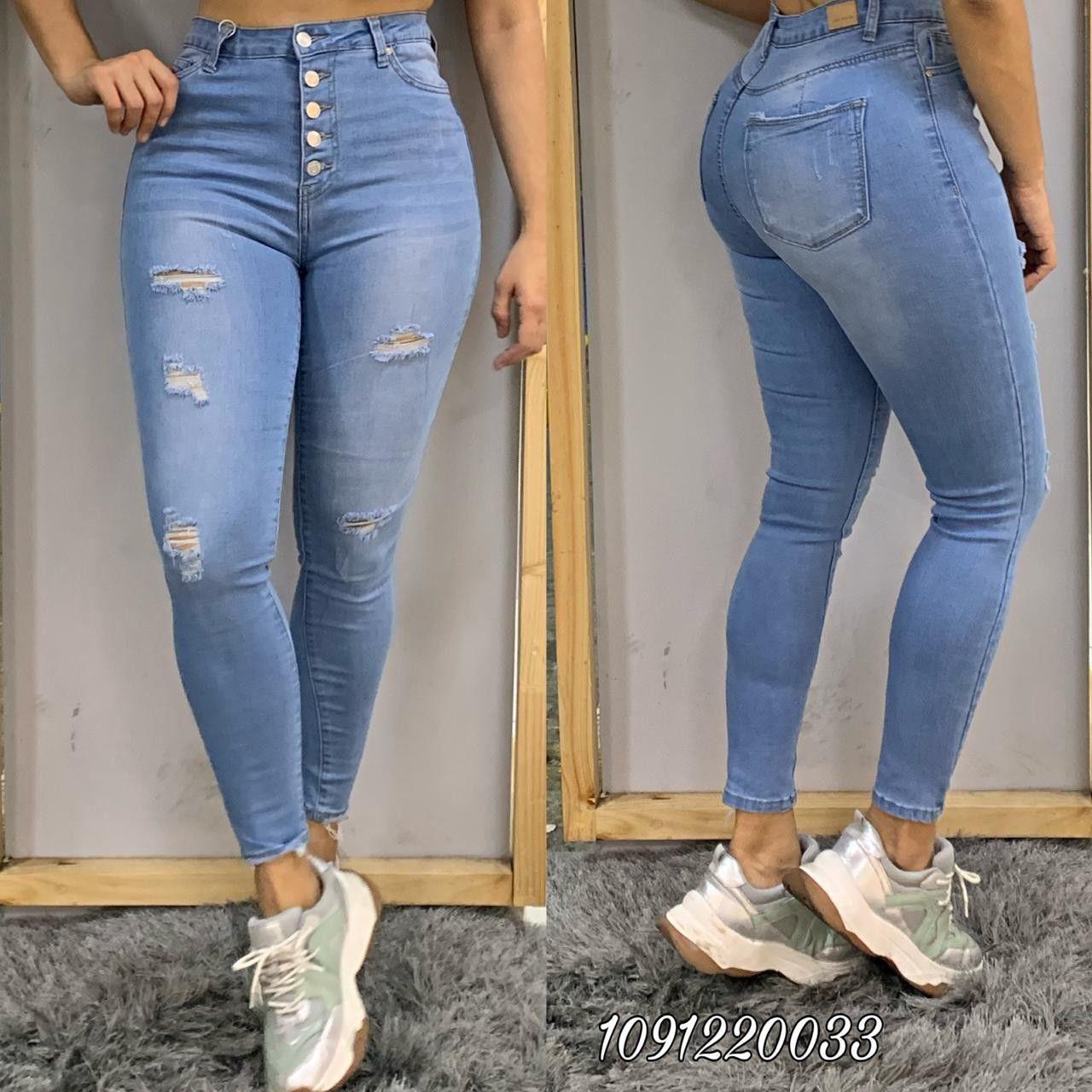 Jeans Dama Jean Talle Alto Moda Jeans
