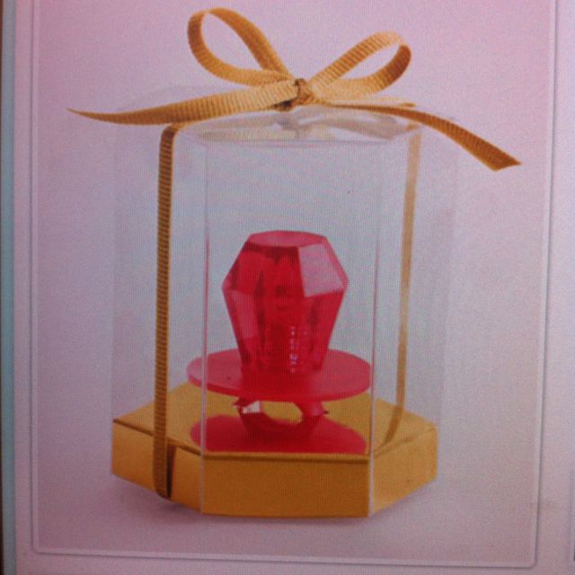 ring pop favor cute idea for a wedding favor