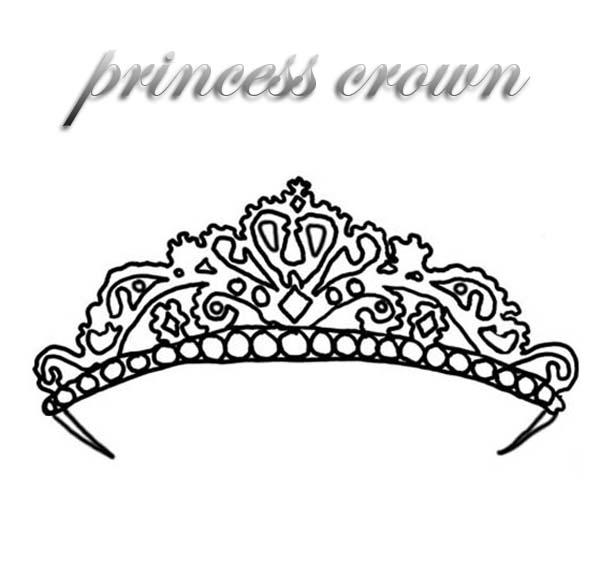 Expensive Princess Crown Coloring Page Netart Princess Crown Coloring Pages Princess