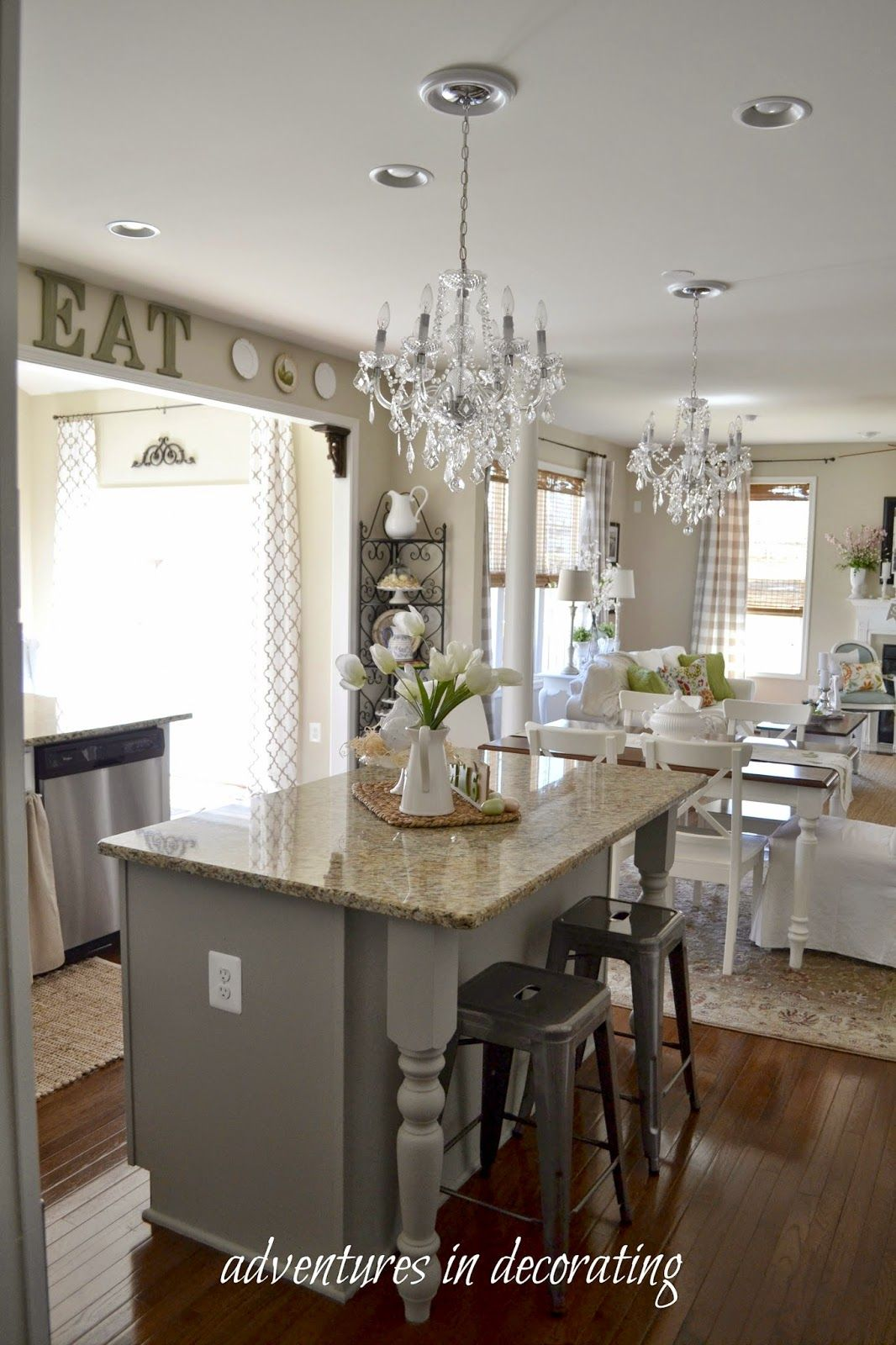 Greetings Friends Well We Ve Been Messin Around In The Kitchen Again And We Re Not Done Yet Home Kitchens Diy Kitchen Cabinets Painting Kitchen Redo