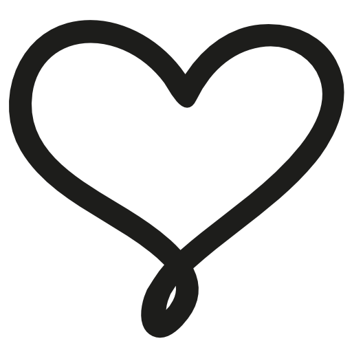 Love Hand Drawn Heart Symbol Outline Free Vector Icons Designed By