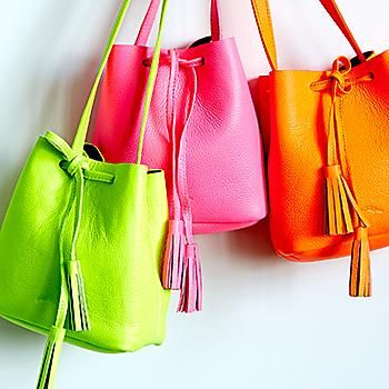 When former PR maven Erin Shaffer couldn't find the bags she craved, she designed her own.