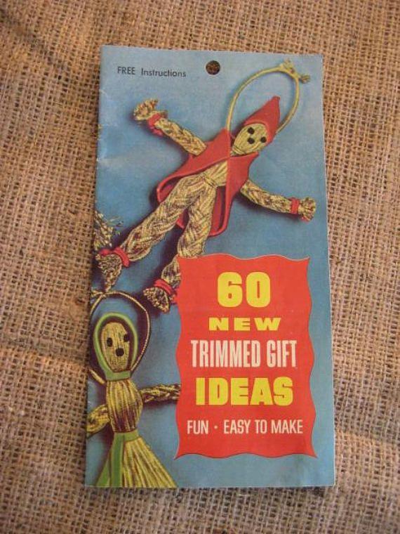 Vintage CRAFT Booklet Trimmed Gift Ideas Vintage 1960's ...