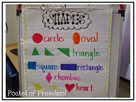 Pocket of Preschool: Shapes: Part 1
