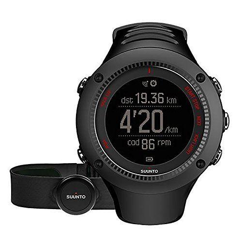 Suunto Ambit3 Peak GPS Heart Rate Monitor Black, One Size