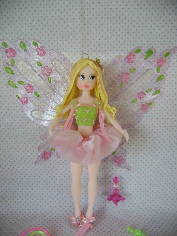 Fadas, Fairy, Fairies, Porcelana Fria, Biscuit, Mobile quarto de Menina, Decoração Infantil, Cold Porcelain.