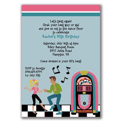 Cute invite 50th Birthday Party Pinterest 50 birthday parties - fresh birthday party invitation ideas wording