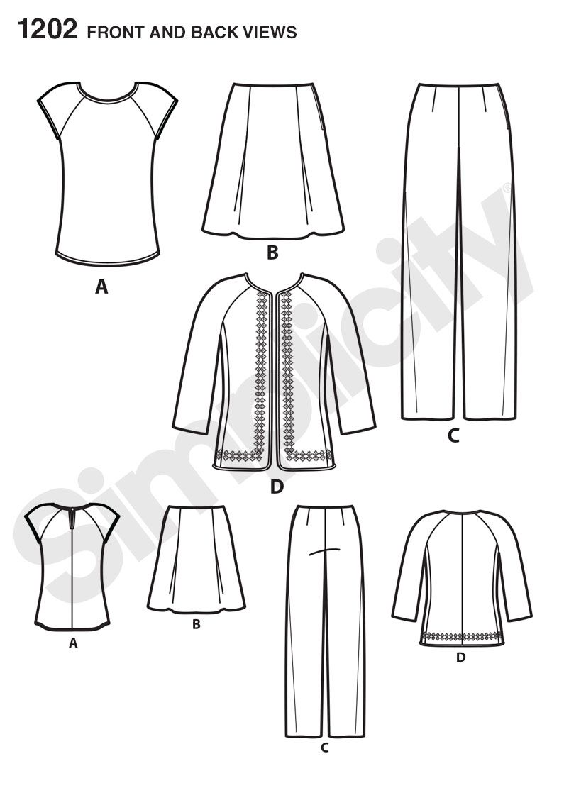 Pattern Reviews> Simplicity> 1202 (Misses\' and Miss Petite ...